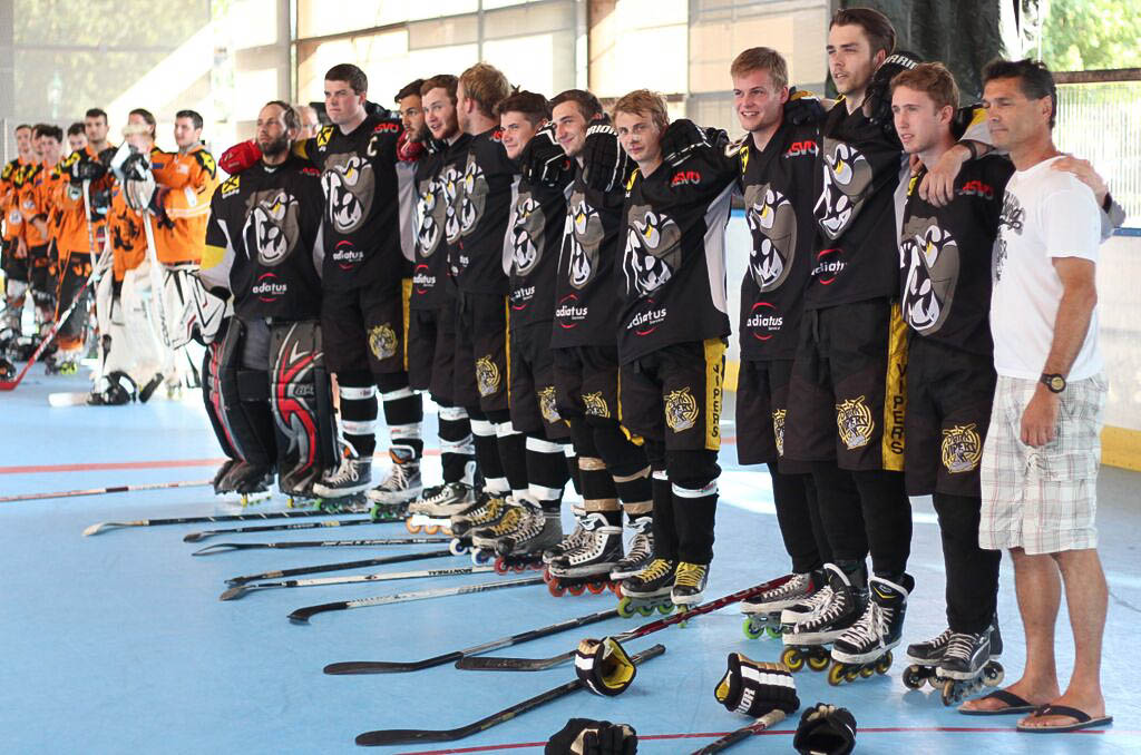 Teamfoto Dark Vipers Hockey